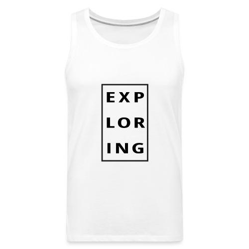 exploring - Premiumtanktopp herr
