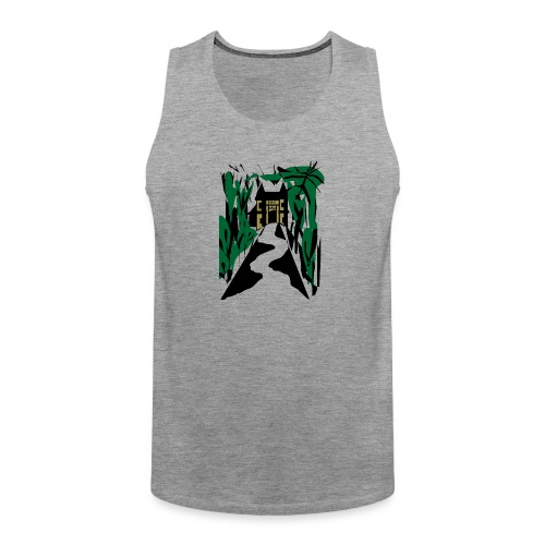 HALLOWEEN SPOOKY HAUNTED MANSION 2017 - Männer Premium Tank Top