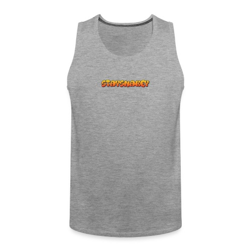womens jacket grey - Men's Premium Tank Top
