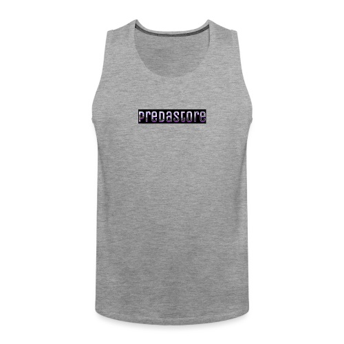 PredaStore Original Logo Design - Men's Premium Tank Top