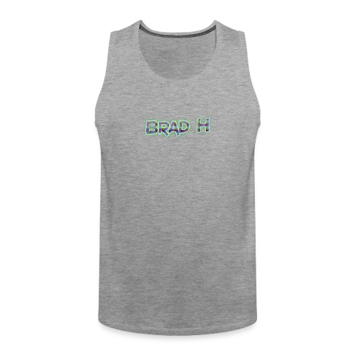 Official Brad H Logo - Men's Premium Tank Top