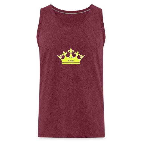 Team King Crown - Men's Premium Tank Top