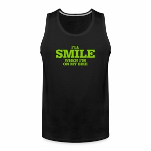 i will smile - Männer Premium Tank Top