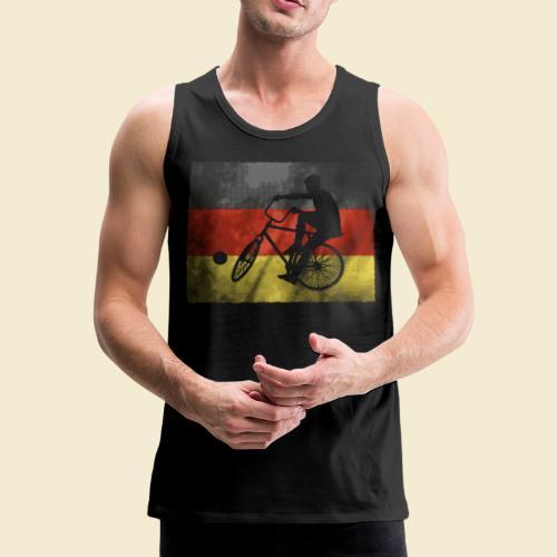 Radball | Flagge Deutschland - Männer Premium Tank Top