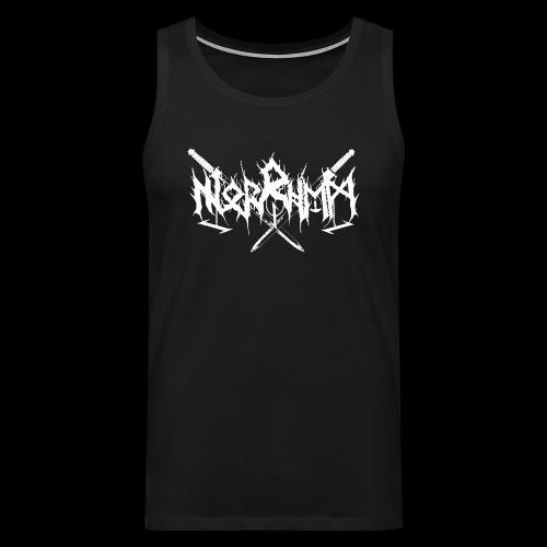 Norrhem logo - Miesten premium hihaton paita