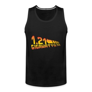 1.21 Gigawatts - Männer Premium Tank Top