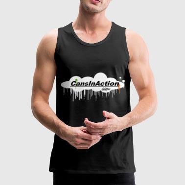 CansInAction Cloud # 1 - Mannen Premium tank top