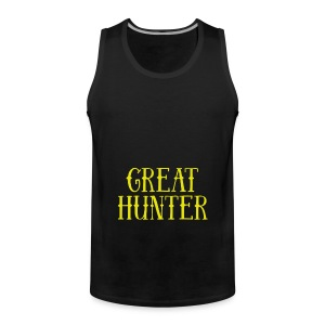 great hunter - Tank top męski Premium