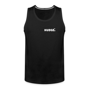 HUDGE PRO WHITE - Männer Premium Tank Top