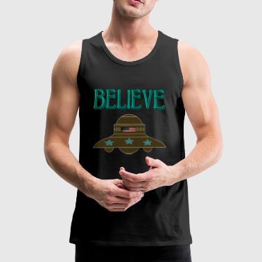 croyez UFO - Débardeur Premium Homme