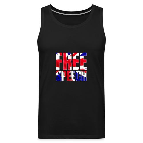 Free Speech UK Alt.1 - Men's Premium Tank Top