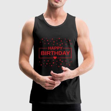 Gefeliciteerd met je verjaardag! - Mannen Premium tank top