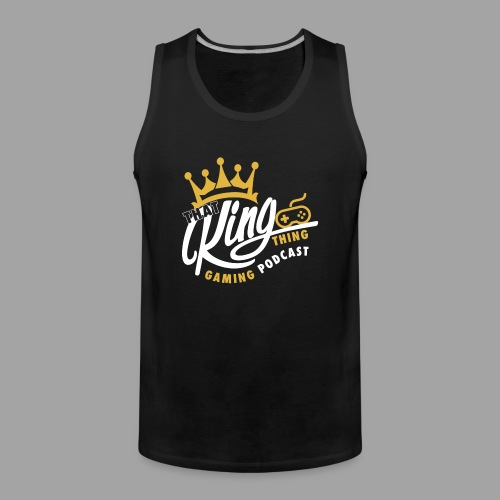 That King Thing Logo - Men's Premium Tank Top