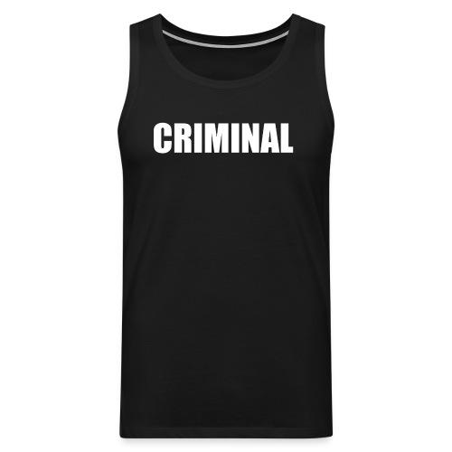 CRIMINAL - Débardeur Premium Homme