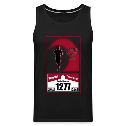 camisa preta - Tank top premium hombre