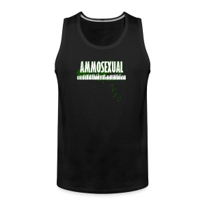 Ammosexual Multi-Caliber (white) - Männer Premium Tank Top