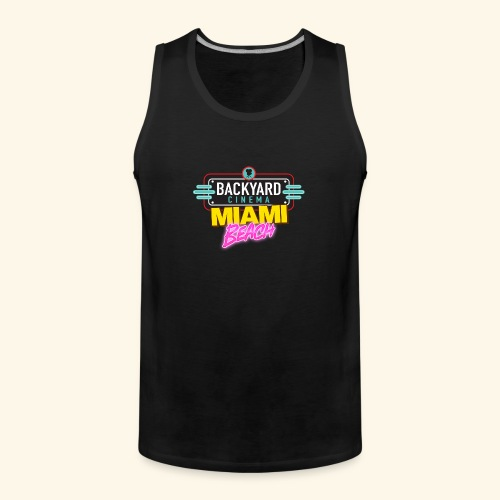 Miami Beach - Men's Premium Tank Top