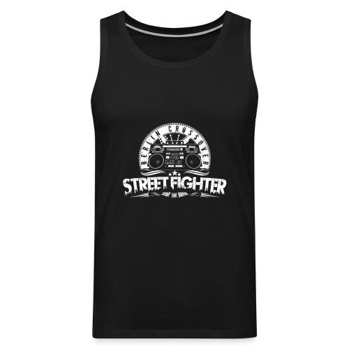 Street Fighter Band White - Men's Premium Tank Top