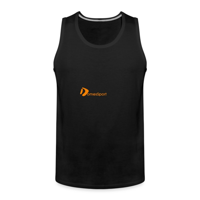 Logo DomesSport Orange noBg - Männer Premium Tank Top