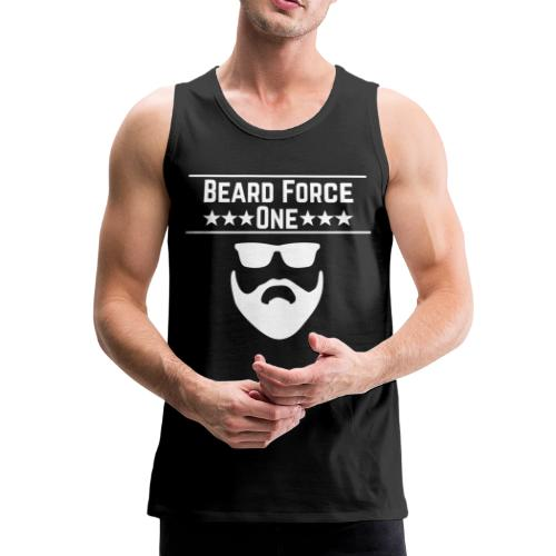 Beard Force One - Männer Premium Tank Top