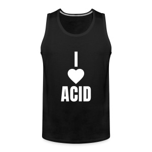 I love acid - Männer Premium Tank Top