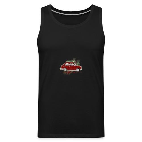 car - Men's Premium Tank Top