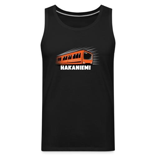 13- METRO HAKANIEMI - HELSINKI - LAHJATUOTTEET - Miesten premium hihaton paita