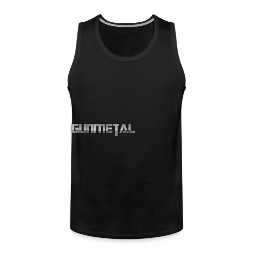 Gunmetal - Men's Premium Tank Top