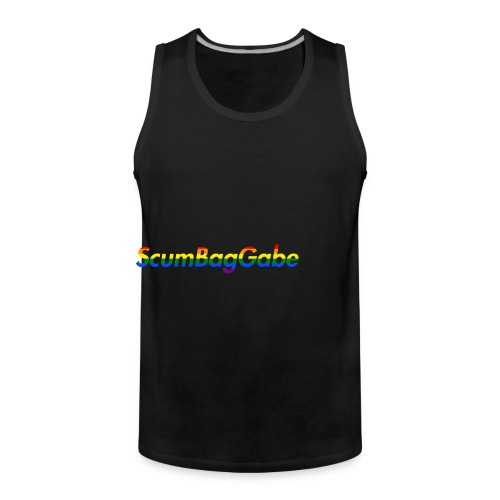 ScumBagGabe Multi Logo XL - Men's Premium Tank Top