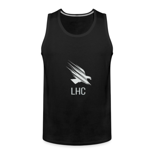LHC Light logo - Men's Premium Tank Top