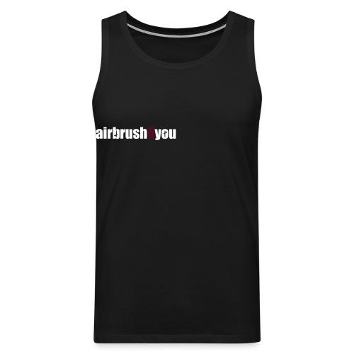 Airbrush - Männer Premium Tank Top