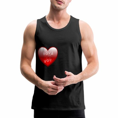 Love You - Männer Premium Tank Top