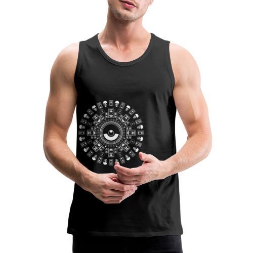Speaker Mandala - Men's Premium Tank Top
