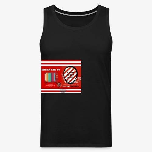 Sponsored by Logo - Men's Premium Tank Top