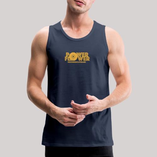 logo def PF 1colore giallo - Canotta premium da uomo