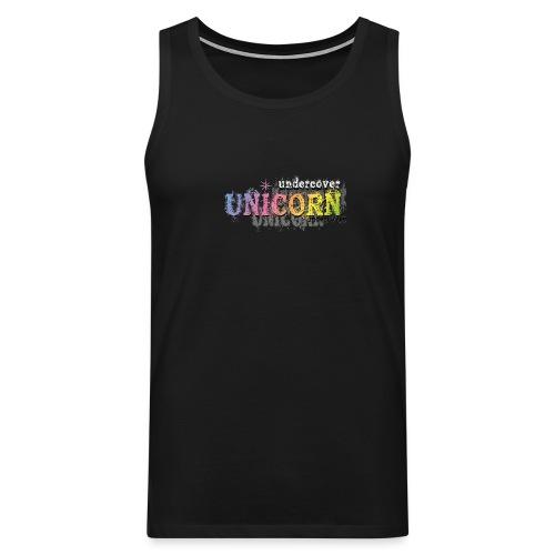Undercover Unicorn - Débardeur Premium Homme