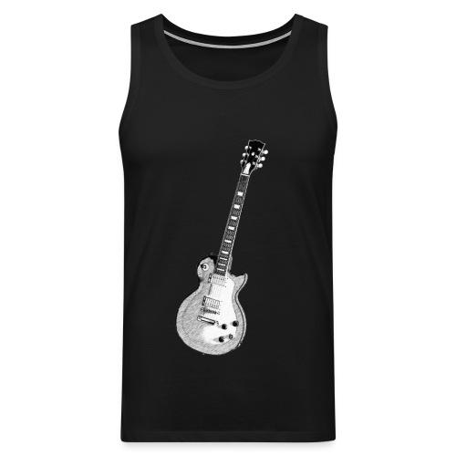 Guitar - Miesten premium hihaton paita