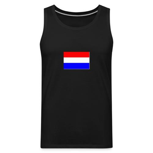 vlag nl - Mannen Premium tank top