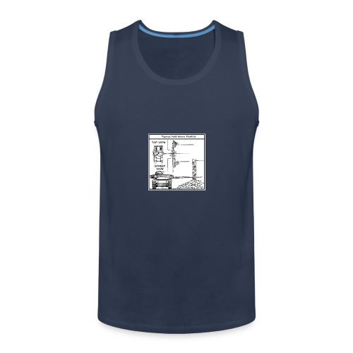 W.O.T War tactic, tank shot - Men's Premium Tank Top