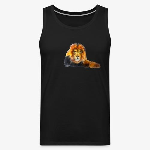 Lion - Men's Premium Tank Top