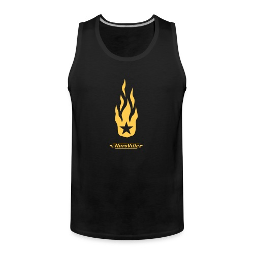 Nitroville band t-shirt - Men's Premium Tank Top