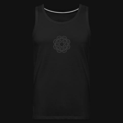 DarkerImage Black on Black (LIMITED) - Men's Premium Tank Top