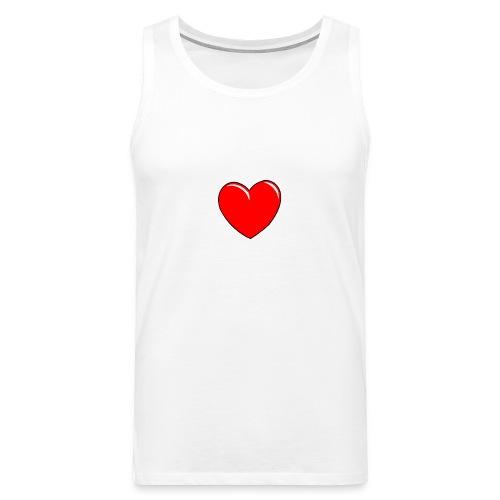 Love shirts - Mannen Premium tank top