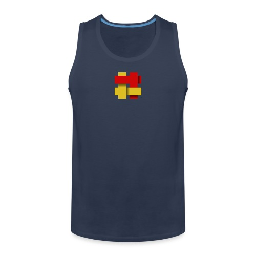 The Kilted Coaches LOGO - Men's Premium Tank Top