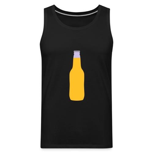 Bierflasche - Männer Premium Tank Top