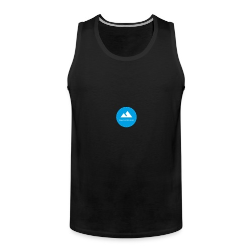Hopeless Wanderer Logo - Men's Premium Tank Top