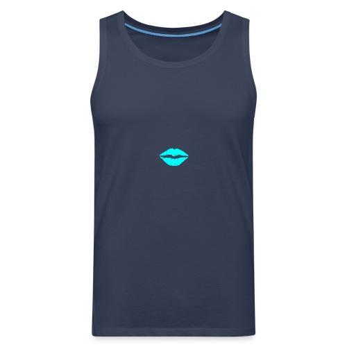 Blue kiss - Men's Premium Tank Top