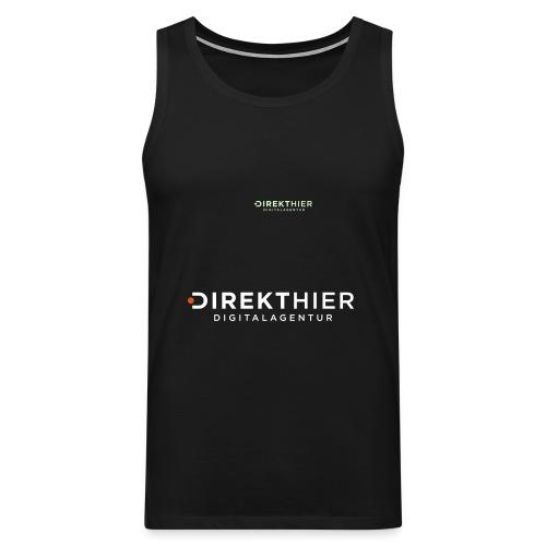 DIREKTHIER Logo - Männer Premium Tank Top