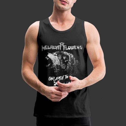 unleash the wolves - Men's Premium Tank Top