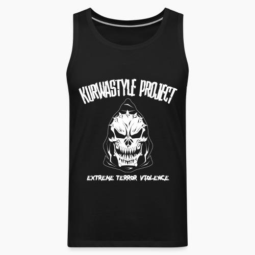 Kurwastyle Project - Terror Violence - Men's Premium Tank Top